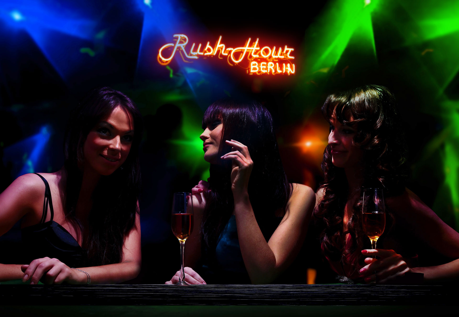 The Hottest Table Dance & Strip Club in Berlin - Rush Hour